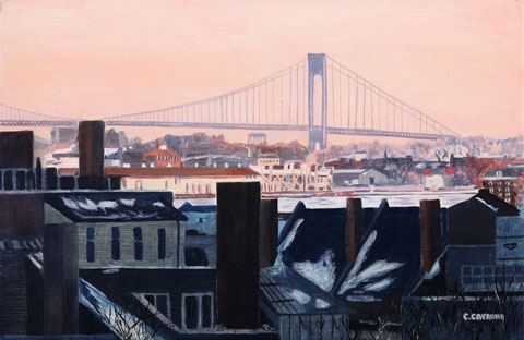 SOLD OUT   |   View at sunrise - Oil - 6 P (41 x 27)