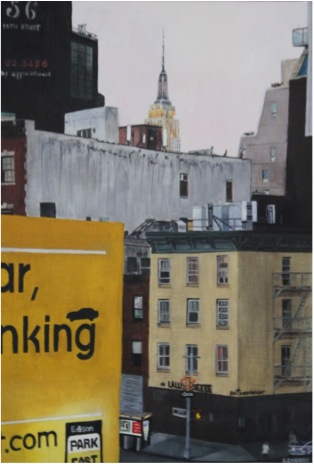 SOLD OUT   |   View from the High Line - Oil - 10P (55X38)